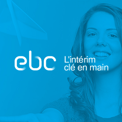 Agence de communication Agence LDP - visuel ebc interim femme