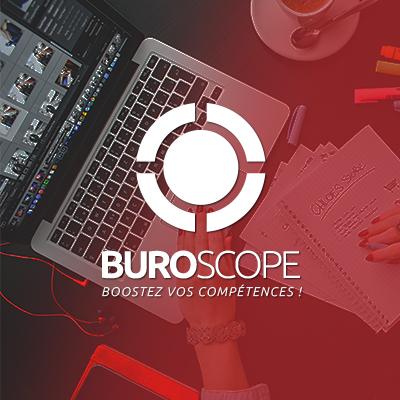 Agence LDP - Agence conseil en communication à Rennes dégradé buroscope