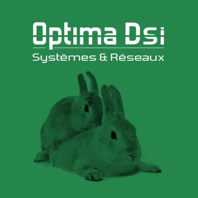Agence de communication Agence LDP lapins sur fond vert