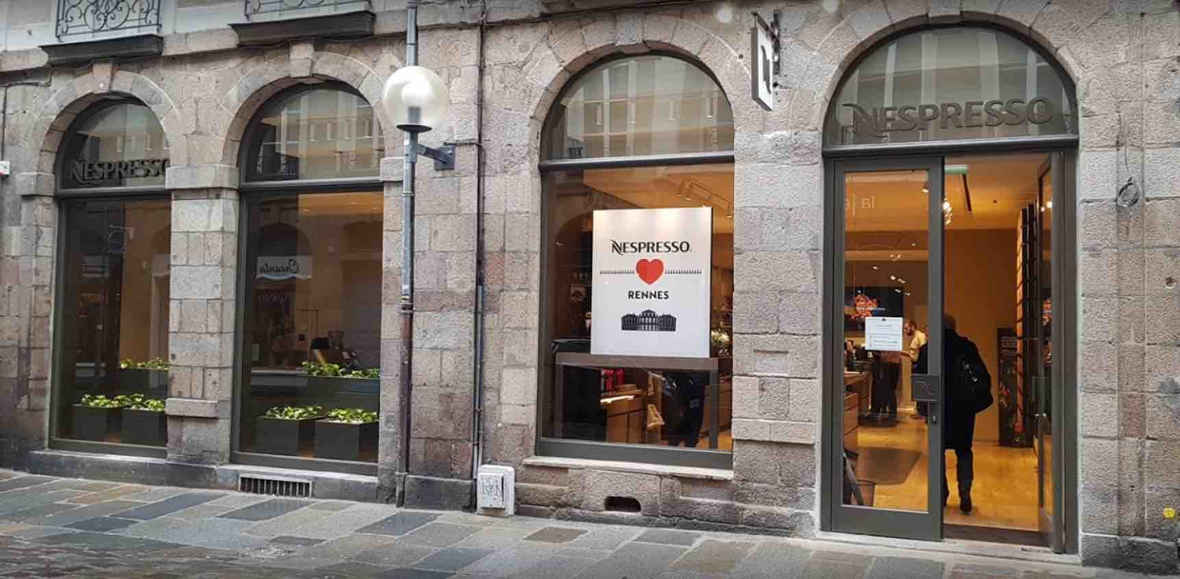 Agence de communication Agence LDP - nespresso a rennes