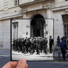 5 photos de Mai 68 se fondent dans le présent