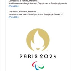 Le nouveau logo de Paris 2024 fait réagir les internautes