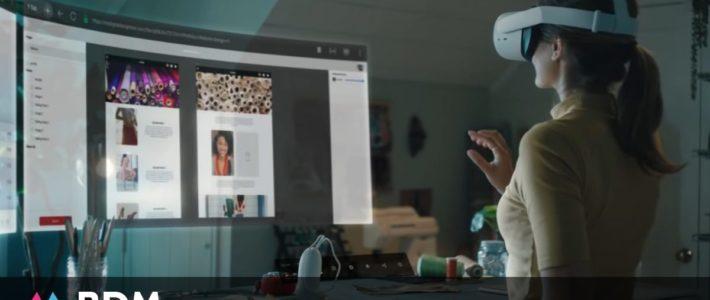 Avec son bureau virtuel Infinite Office, Facebook veut révolutionner notre manière de travailler