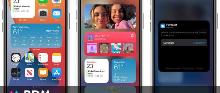 iPhone : comment ajouter des widgets sur l'écran d'accueil avec iOS 14