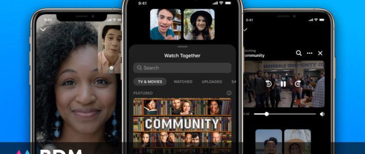 Facebook lance Watch Together sur Messenger