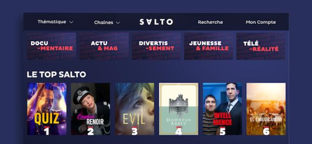 Salto, la plateforme qui veut «refléter l'esprit français»