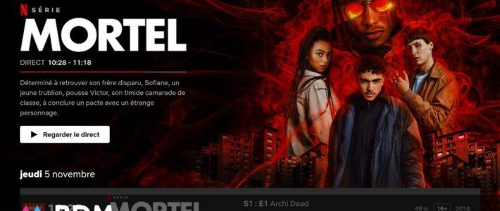 Netflix lance Direct en France, une chaîne de télévision en streaming