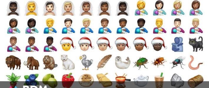115 nouveaux emojis arrivent sur WhatsApp pour Android