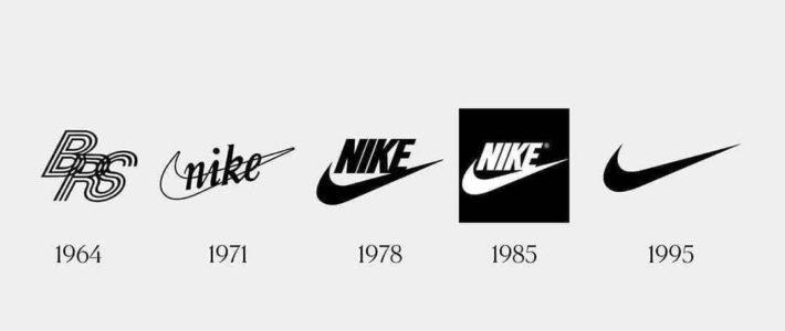 L'évolution des logos. Comme quoi, il ne faut pas avoir peur de revenir en arr…