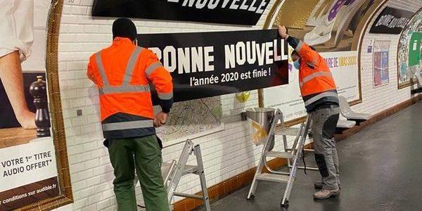 Quand la RATP nous annonce enfin une «Bonne Nouvelle»… #ByeBye2020