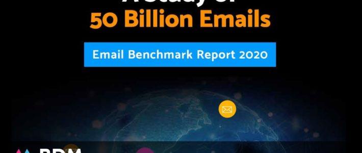 Emailing : benchmark 2020, taux de clics, ouverture, conseils pour améliorer ses campagnes…