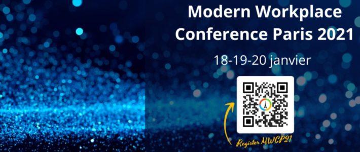 MWCP 2021 : la conférence en ligne sur les usages et nouveautés Microsoft
