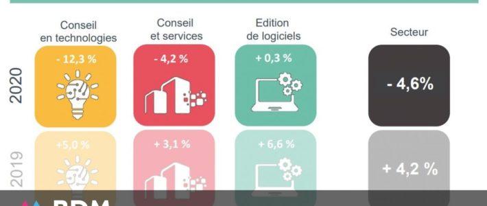 Le numérique résiste : tous les chiffres clés du secteur en 2020
