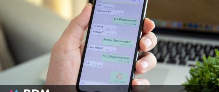 WhatsApp : vous pouvez choisir un fond d'écran par discussion