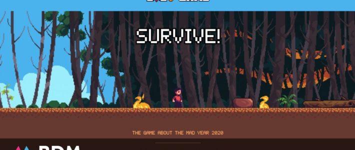 Un jeu gratuit en ligne pour revivre l'année 2020