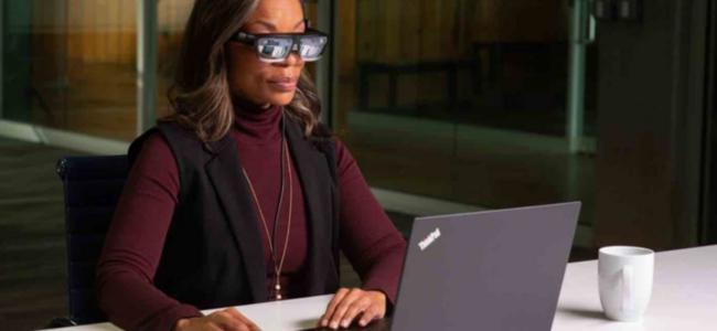 Lenovo lance ses ThinkReality A3, des lunettes la fois connectes et…