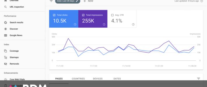 Un nouveau rapport Google Actualités sur Search Console