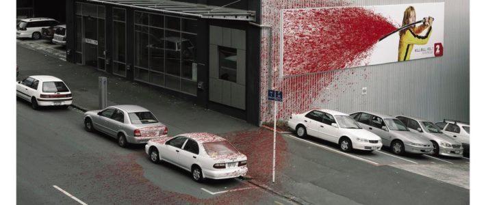 Et si ça avait été votre voiture ?  «The Blood Splatter» («la giclée de sang»)…