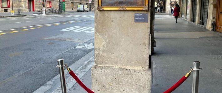 Un tableau de la Joconde sans la Joconde dans les rues de Paris pour dénoncer …