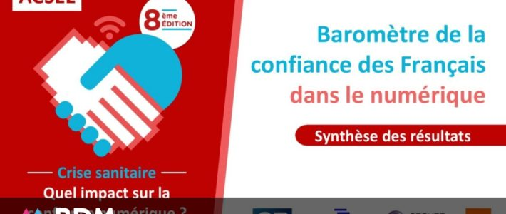 Comment évolue la confiance des Français dans le numérique