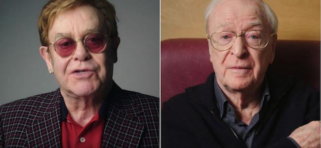 Elton John et Michael Caine : le casting de rve pour convaincre les…
