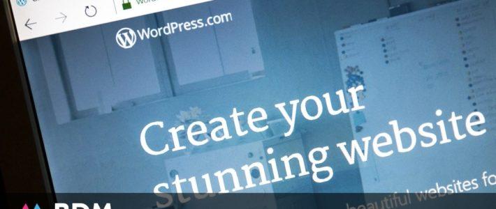 40 % des sites web utilisent WordPress