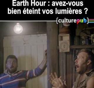 Ne pas éteindre ses lumières pendant l'Heure de la Terre peut avoir de graves …