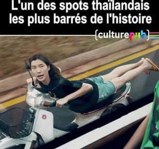 Ils sont vraiment fous, ces Thaïlandais.   Un spot à bien regarder jusqu'au bo…