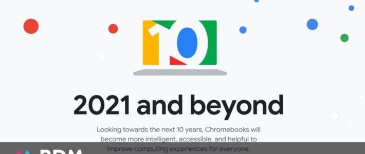 Chrome OS : de nombreuses nouveautés pour fêter les 10 ans du système d'exploitation