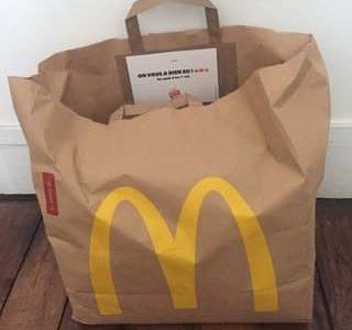 May be an image of burger