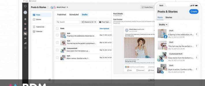 La planification des stories, bientôt sur Facebook Business Suite