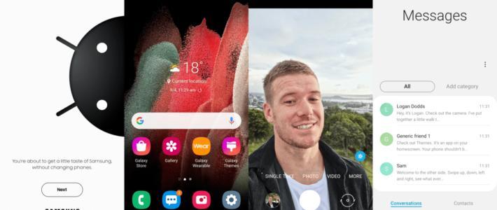 Samsung lance iTest pour expérimenter l'interface Galaxy sur iPhone