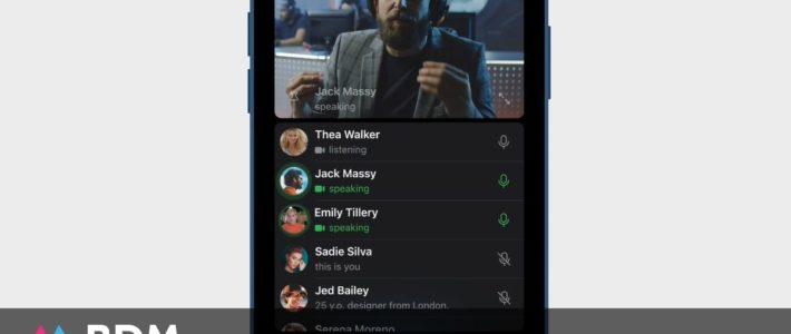 Telegram va lancer les appels vidéos de groupe pour concurrencer Zoom