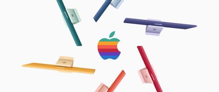Le logo arc-en-ciel d'Apple fait son grand retour