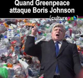Le Premier Ministre britannique Boris Johnson est directement pris à parti dan…