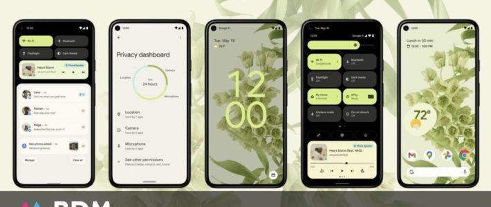 Android 12 : découvrez toutes les nouveautés