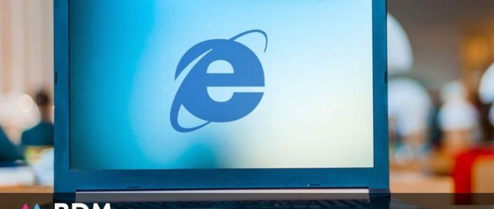 Microsoft va mettre fin à Internet Explorer en 2022