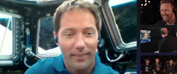 Thomas Pesquet dévoile le nouveau single de Coldplay… depuis l'espace