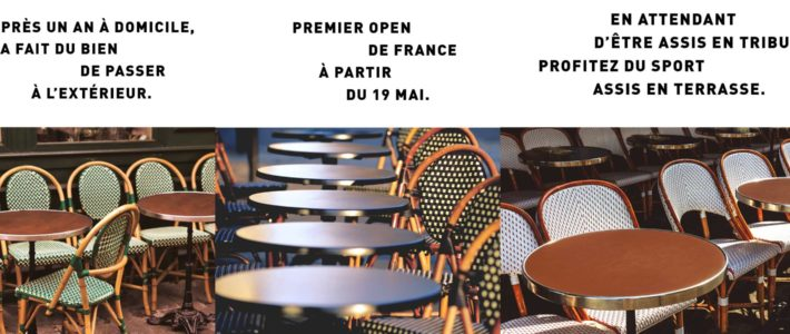 L'Équipe fête la réouverture des terrasses de cafés