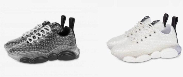 Moschino dévoile une paire de chaussures… en papier bulle