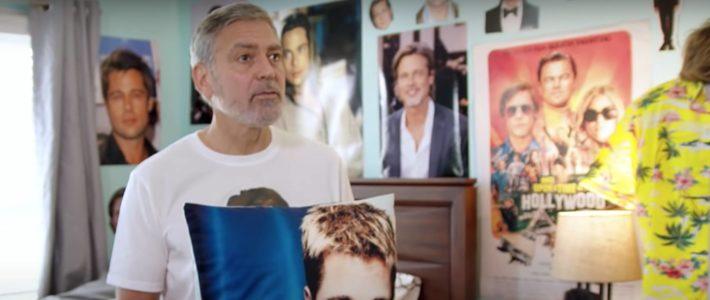 George Clooney est-il le plus grand fan de Brad Pitt de l'Histoire ?