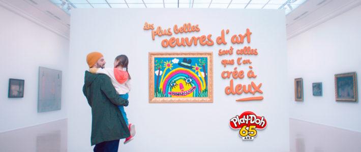 Play-Doh fête son 65ème anniversaire au Musée d'Art Moderne