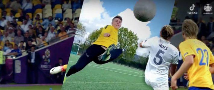 TikTok laisse la main à ses utilisateurs pour sa première campagne de l'Euro 2020