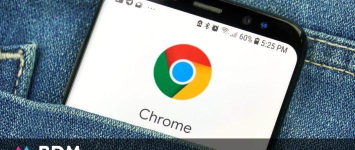Comment faire une capture d'écran avec Chrome sur Android