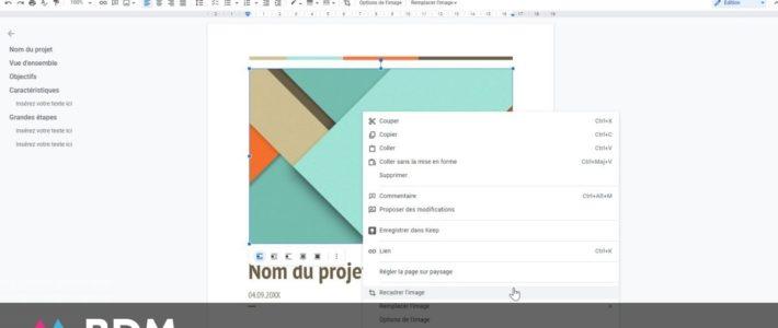 Google Docs : comment extraire une image d'un document