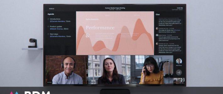 Microsoft Teams facilite le travail hybride avec Front Row et Fluid