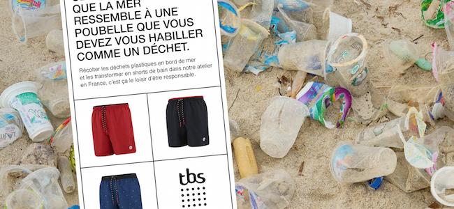 Salutaire : Brand Station fait du recyclé de chez recyclé pour TBS!