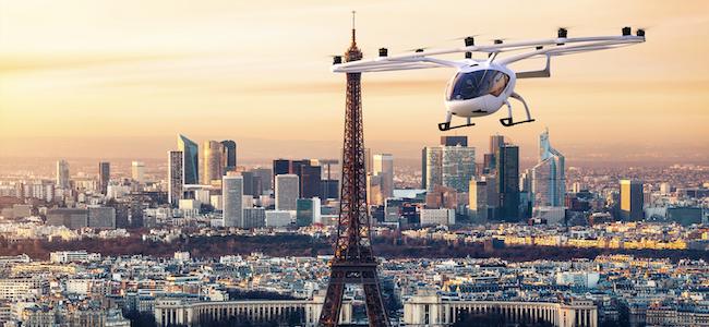 Le futur des Taxis volants se jouait hier dans le ciel francilien du…