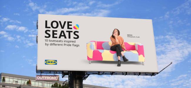 Ikea fière d'afficher ses Love seats signés de créateurs…
