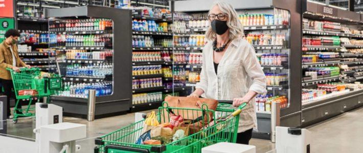Amazon équipe un supermarché de 2500 mètres carrés